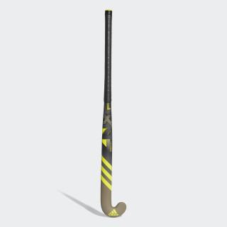 LX24 Compo 3 Hockey Stick Black / Shock Yellow / Grey Four CY1689