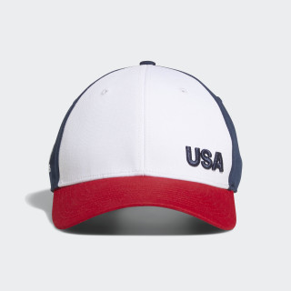 Colorblock Crestable Hat Mineral Blue / Collegiate Red DN6444