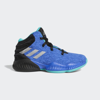 Mad Bounce 2018 Shoes Core Black / Silver Metallic / Hi-Res Blue AP9948