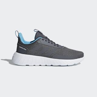 Questar Drive Shoes Grey / Grey / Bright Cyan B75885