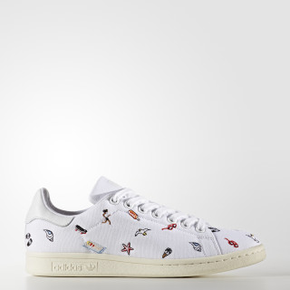 Sapatos Stan Smith Footwear White/Footwear White/Off White BZ0392