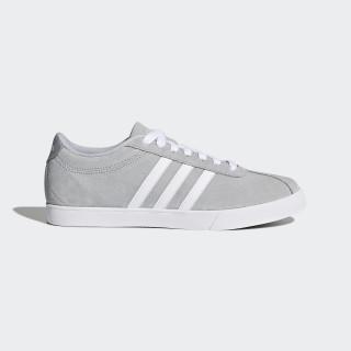 Courtset Schuh Grey One / Ftwr White / Silver Met. AW4209
