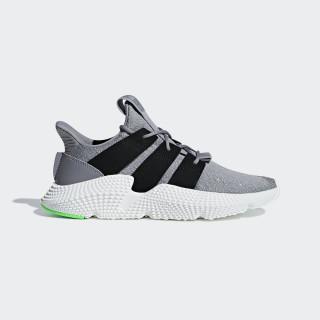 Prophere Schuh Grey Three / Core Black / Shock Lime B37464
