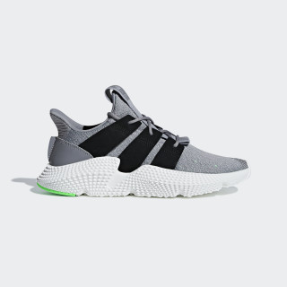 Prophere Shoes Grey Three / Core Black / Shock Lime B37464