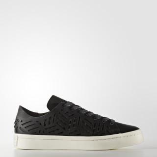 Court Vantage Cutout Shoes Core Black/Core Black/Off White BY2956