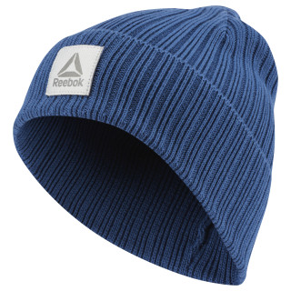 Bonnet avec logo Active Foundation Bunker Blue CZ9836