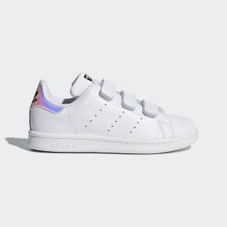 Stan Smith Shoes White/Metallic Silver/White AQ6273