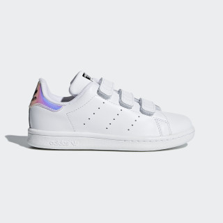 Stan Smith sko White/Metallic Silver/White AQ6273