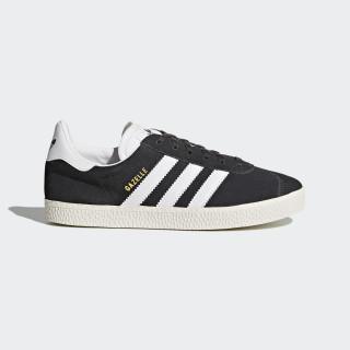 Gazelle Schuh Dark Grey Heather/Footwear White/Gold Metallic BB2503