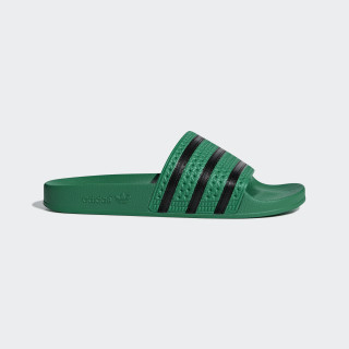 Chancla Adilette Bold Green / Core Black / Bold Green CM8443