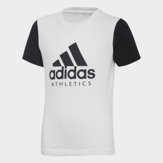 Sport ID Tee white / black DI0159
