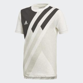 X T-Shirt White Melange DJ1266