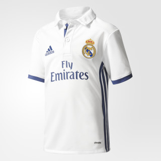 Jersey Local Real Madrid 2016/2017 Bebes CRYSTAL WHITE/ WHITE/COLLEGIATE GREEN AI5192