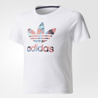 Camiseta Feather WHITE/MULTICOLOR BR7293
