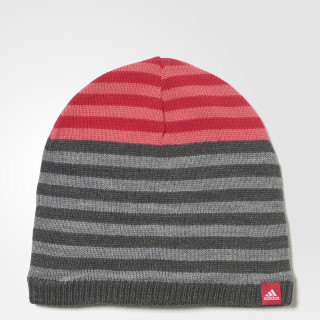 Gorro às Riscas Dark Grey Heather/Core Heather/White CD3012