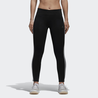 Calça Legging Designed 2 Move Climalite 3-Stripes BLACK/WHITE CE2036
