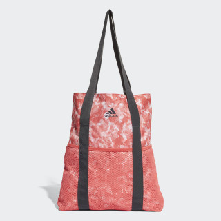 Core Shopper Tote Bag Trace Scarlet/Chalk Pearl/Carbon/Carbon CV4276