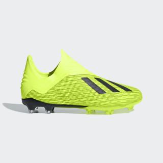 Zapatos de Fútbol X 18+ Terreno Firme SOLAR YELLOW/CORE BLACK/FTWR WHITE DB2284