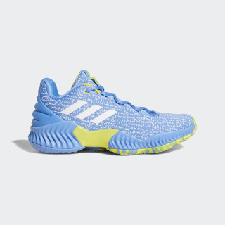 Pro Bounce 2018 Player Edition Low Shoes Light Blue / Cloud White / Bright Yellow F36939