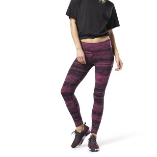 Lux Tights - Stratified Stripes Twisted Berry DN7455