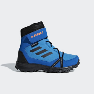 TERREX Snow CF CP CW Shoes Bright Blue / Core Black / Hi-Res Orange AC7966