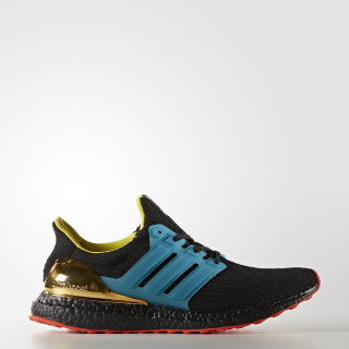 Ultra Boost kolor Shoes Core Black / Lab Green / Bright Yellow AH1485