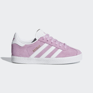 Gazelle Shoes Clear Lilac / Ftwr White / Ftwr White B41915