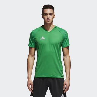 Camiseta de entrenamiento Tiro 17 Green/Black/White BQ2803