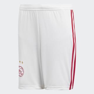 Pantalón corto primera equipación Ajax White / Bold Red CF5469