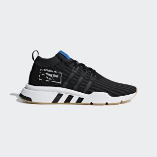 EQT Support Mid ADV Shoes Core Black / Core Black / Bluebird B37413