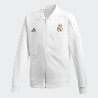 Real Madrid adidas Z.N.E. Jacket Core White / Black CY6108