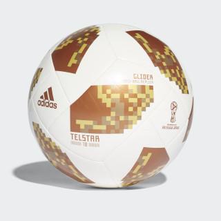 FIFA World Cup Glider Ball White / Copper Gold / Gold Metallic CE8099