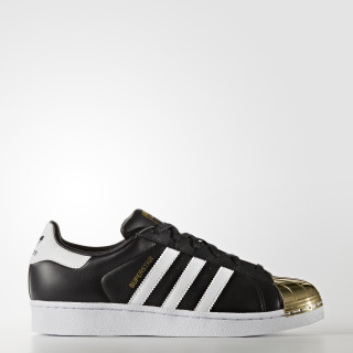Superstar 80s Shoes Core Black / Cloud White / Gold Metallic BB5115