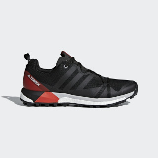 Zapatilla adidas TERREX Agravic Core Black/Carbon/Hi-Res Red CM7615