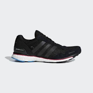 Adizero Adios 3 Schuh Core Black / Real Magenta / Bright Blue AQ0192