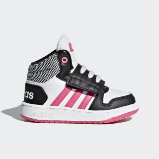 Tenis Hoops 2.0 Mid CORE BLACK/REAL PINK S18/FTWR WHITE DB1943