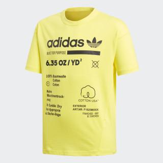 Kaval Tee Shock Yellow DQ1710