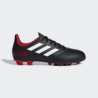 Zapatos de Fútbol Predator 18.4 Múltiples Terrenos CORE BLACK/FTWR WHITE/RED DB2323