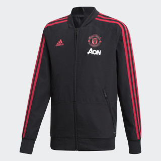 Manchester United Presentation Jacket Black / Blaze Red / Core Pink CW7631