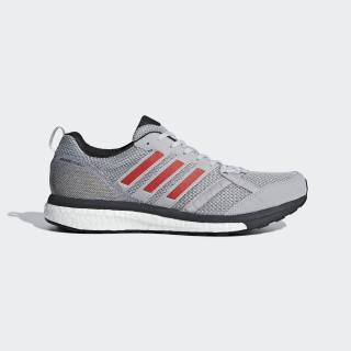 adizero Tempo 9 Schuh Grey Two / Hi-Res Red / Carbon BB6651