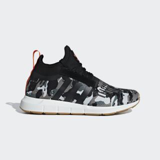 Swift Run Barrier Shoes Steel / Core Black / Orange B42234