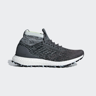 Ultraboost All Terrain Shoes Grey / Carbon / Blue Tint F36129