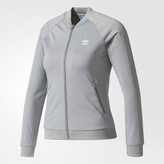 SST Track Jacket Grey Three/White CE6255