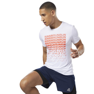 Running  ACTIVCHILL Graphic Tee White D92317