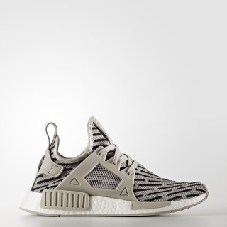 NMD_XR1 Shoes Clear Granite / Clear Granite / Core Red BB2376