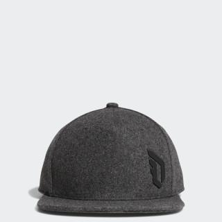 Dame Snapback Hat Dark Grey Heather / Black / Black CD2764
