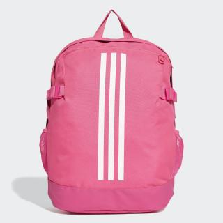 3-Stripes Power Backpack Medium shock pink / white / white DM7683
