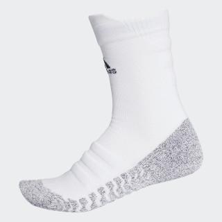 Alphaskin Traxion Lichtgewicht Gevoerde CLIMACOOL Sokken White/Black CG2674
