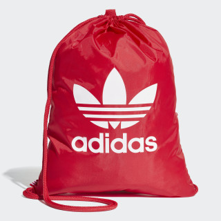Trefoil Gym Sack Real Red DQ3160
