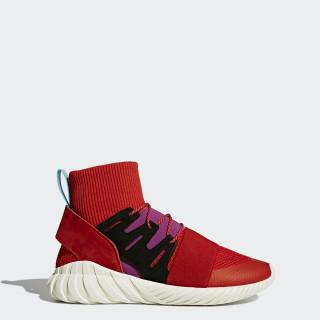 Tubular Doom Winter Shoes Scarlet/Scarlet/Shock Purple BY9397